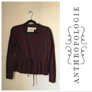 [Anthropologie] Angel of the North Elly Cardigan